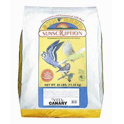 SunSeed 25 lbs Vita Canary Food