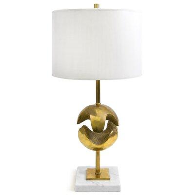 """Jonathan Adler Marais 20"""" H Table Lamp with Oval Shade"""