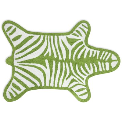 Jonathan Adler Zebra Bath Rug