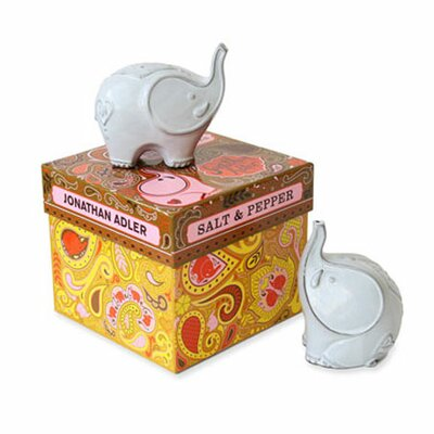 Jonathan Adler Elephants Salt and Pepper Mills