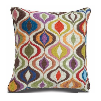 Jonathan Adler Bargello Waves Wool Pillow