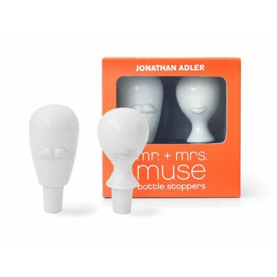Jonathan Adler Mr. and Mrs. Muse Bottle Stopper