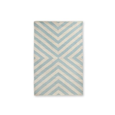 Jonathan Adler Bridget Kilim Light Blue/Natural Rug