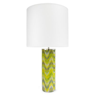 Jonathan Adler Carnaby 1 Light Acid Palm Table Lamp