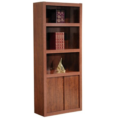"Rush Furniture Charles Harris 72"" H Bookcase in Dark Cherry"