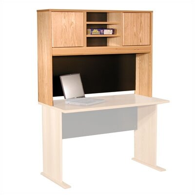 "Rush Furniture Modular 36"" H x 48"" W Panel Desk Hutch"