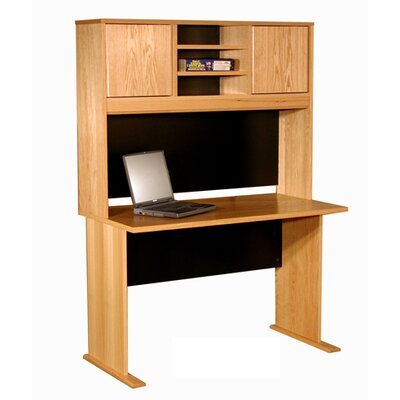 Rush Furniture Office Modulars Standard Computer Desk Office Suite
