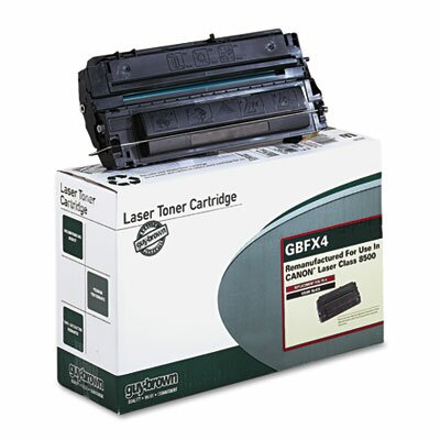 Guy Brown Products GBFX4 Laser Cartridge, Standard-Yield, 4000 Page-Yield, Black