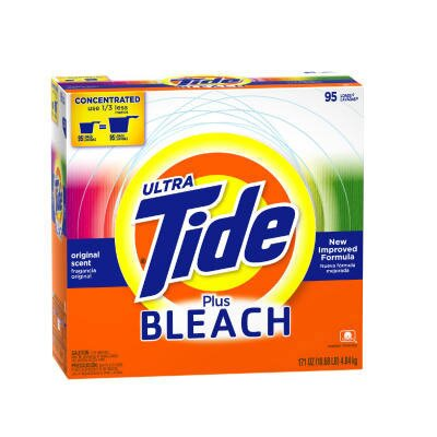Tide® 21 Ounces Box Laundry Detergent with Bleach (Case of 15)