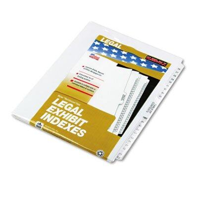 Kleer-Fax, Inc. 80000 Series Legal Exhibit Index Dividers