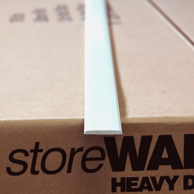 StoreWALL Heavy Duty Trim - Flat (8' Length)