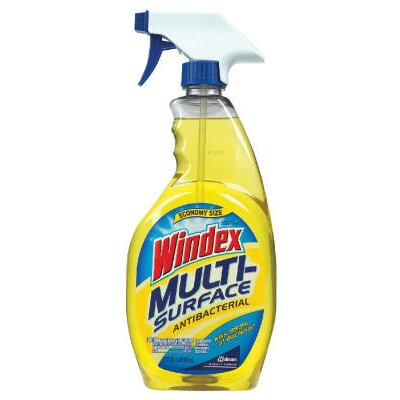 Windex® Vinegar Multi-Surface Cleaner Liquid Trigger Spray Bottle