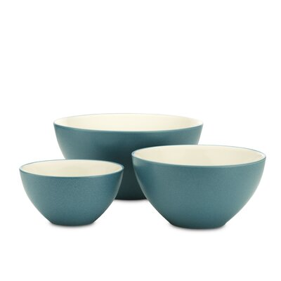 Noritake Colorwave 3 Piece Bowl Set