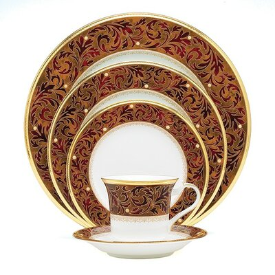 Xavier Gold 5 Piece Place Setting