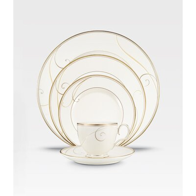 Golden Wave 20 Piece Dinnerware Set