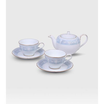Noritake Lacewood Gold Tea for Two Set