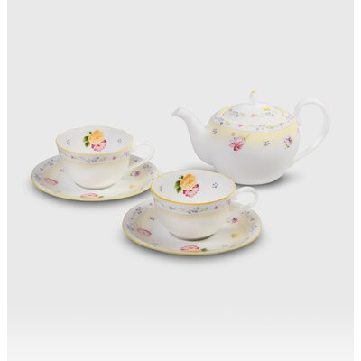 Noritake Jeune Fleur Tea for Two Set