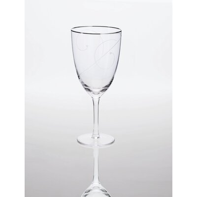 Platinum Wave Iced Tea Glass