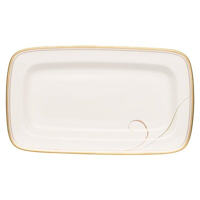 Noritake Golden Wave Butter Dish