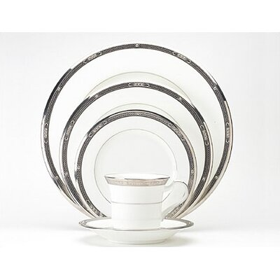 Noritake Chatelaine Platinum 20 Piece Dinnerware Set