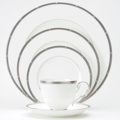Rochelle Platinum 20 Piece Dinnerware Set
