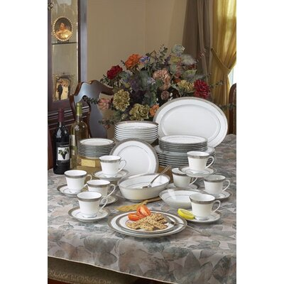 Crestwood Platinum Dinnerware Set