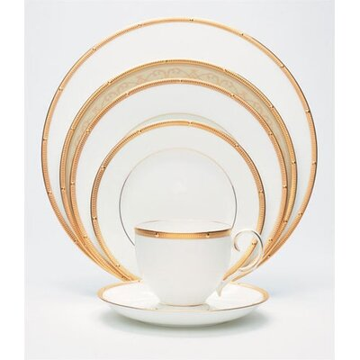 Rochelle Gold Dinnerware Set