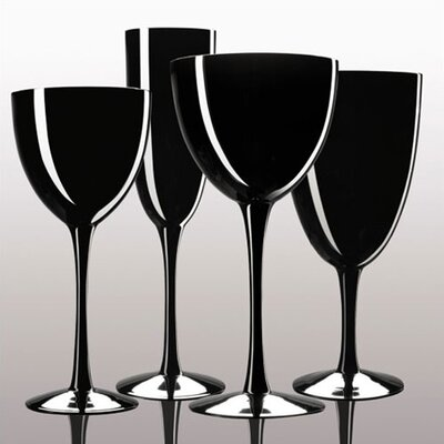 Noritake Palais Black Crystal Collection