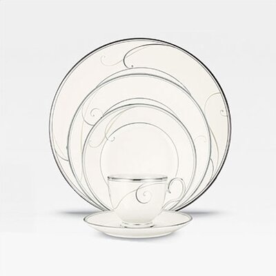 Platinum Wave Dinnerware Collection