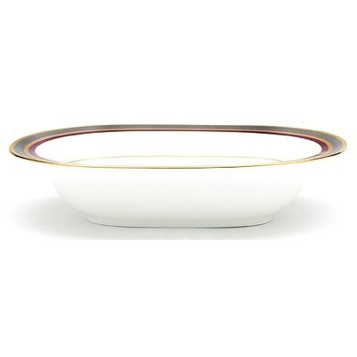 Noritake Ruby Coronet Oval Vegetable Bowl