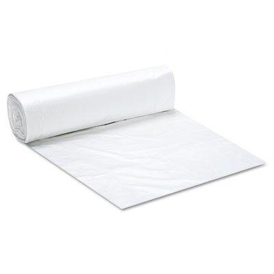 Essex® Can Liner Hi-D Rolls, 40 x 48, 250/Carton, Clear