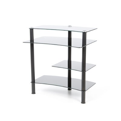 """RTA Home And Office 32"""" W Computer Desk with Keyboard Tray"""