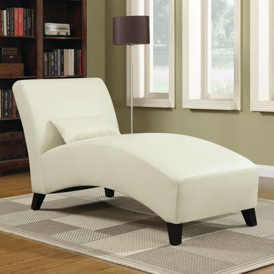 Abbyson living carmen fabric chaise lounge reviews wayfair for Abbyson living soho cream fabric chaise