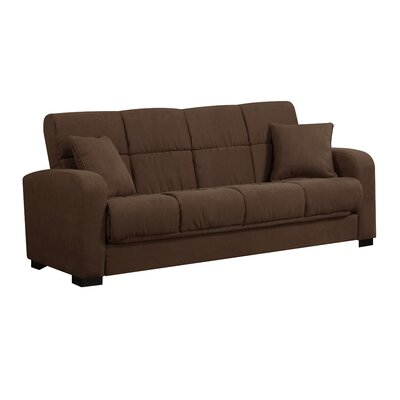 Handy Living Damen Convert-a-Couch Full Sleeper Sofa