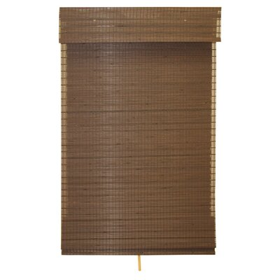 Eco-Friendly Cordless Woven Rayon Roman Shade