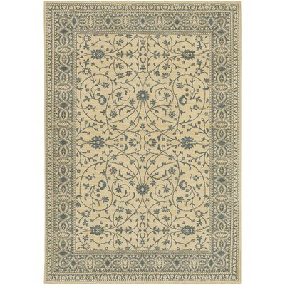 English Manor Somerset Lane Ivory/Blue Rug