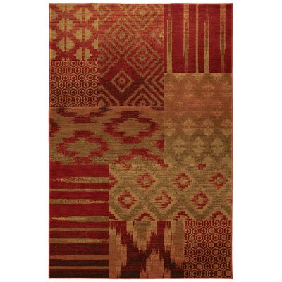 Karastan Carmel Cypress Point Crimson Rug