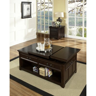 Steve Silver Furniture Franklin Coffee Table with Lift Top