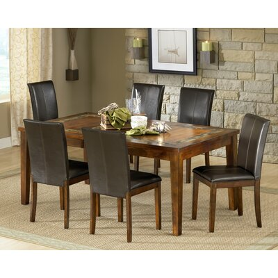 Steve Silver Furniture Davenport 7 Piece Dining Set