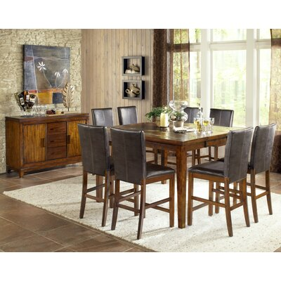 Steve Silver Furniture Davenport 9 Piece Counter Height Dining Set