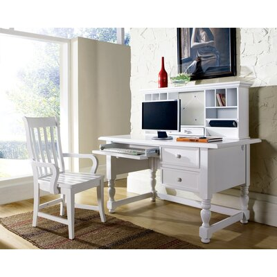 Steve Silver Furniture Bella Hutch in Multi-Step Off-White