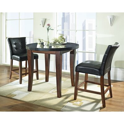Steve Silver Furniture Granite Bello Counter Height Pub Table Set
