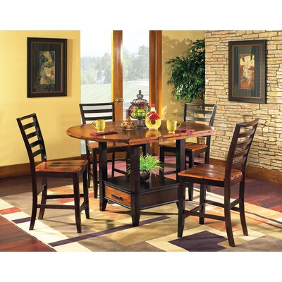 Steve Silver Furniture Abaco 5 Piece Counter Height Dining Set