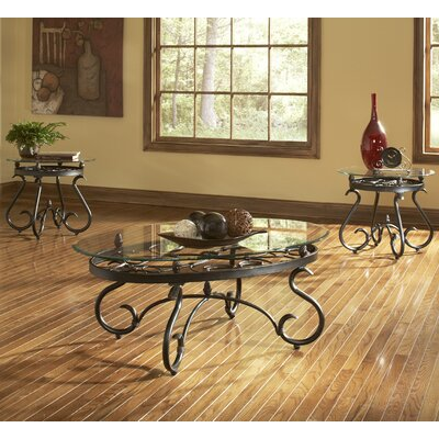 Lola 3 Piece Coffee Table Set