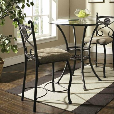 Steve Silver Furniture Brookfield Counter Height Pub Table with Optional Stools