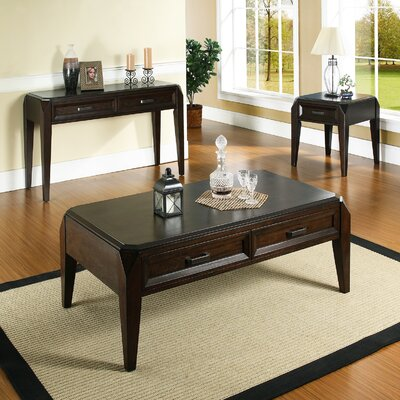 Steve Silver Furniture Wellington Coffee Table Set