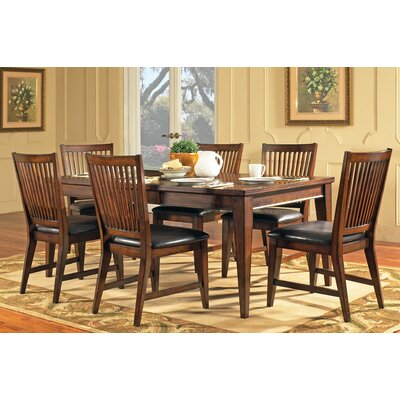 Steve Silver Furniture Hillsboro 7 Piece Dining Set