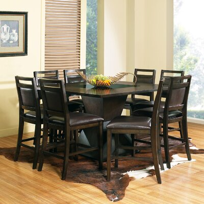 Steve Silver Furniture Malbec 9 Piece Counter Height Dining Set