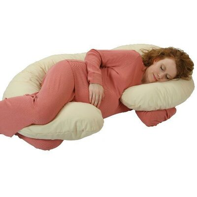 LeachCo Organic Smart Snoogle Body Pillow in Natural Ivory