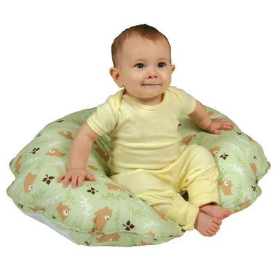 LeachCo Cuddle-U Original Nursing Pillow and More in Green Bears